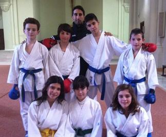 El CDSC de Karate en el autonómico infantil