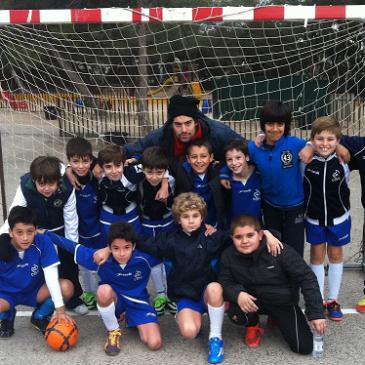 Los alevines de Fútbol del Club Deportivo, ¡a un paso de la final!