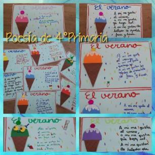 POESÍA - 4PRI - EL VERANO - 23-05-18