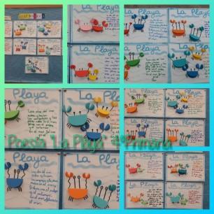 POESÍA - 4PRI - LA PLAYA - 16-05-18