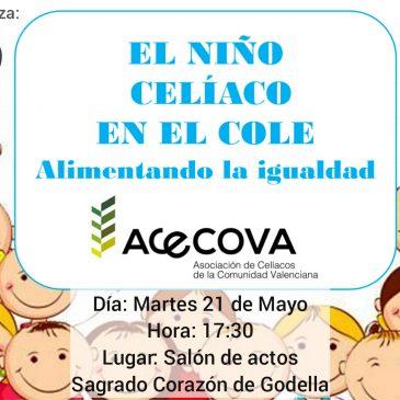 CHARLA sobre CELIAQUÍA, martes 21-05-19