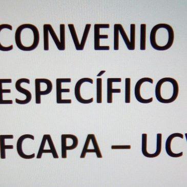 CONVENIO FCAPA CON UCV – BECAS DE EXCELENCIA.